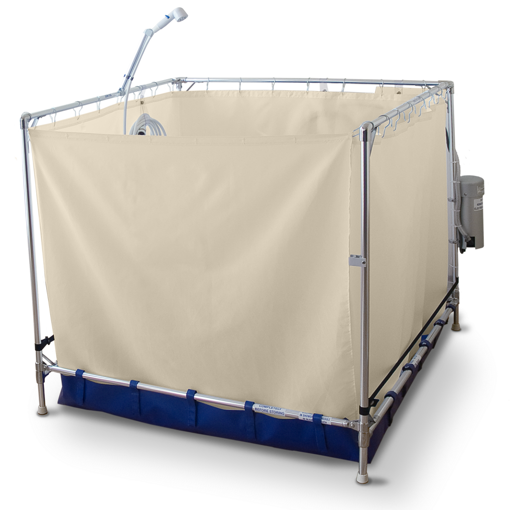 B5000 Bariatric Curtain Closed
