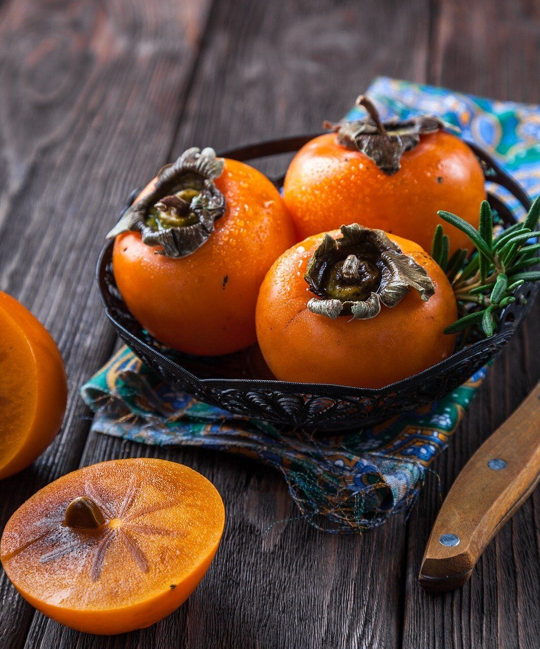 Soaps containing persimmon are useful in dealing with body odor
